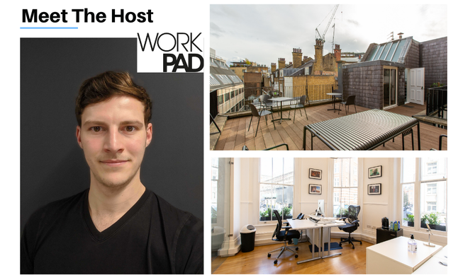 Meet the host: WorkPAD